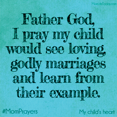A Mom Prayer for My Child' s Heart - GodlyMarriages